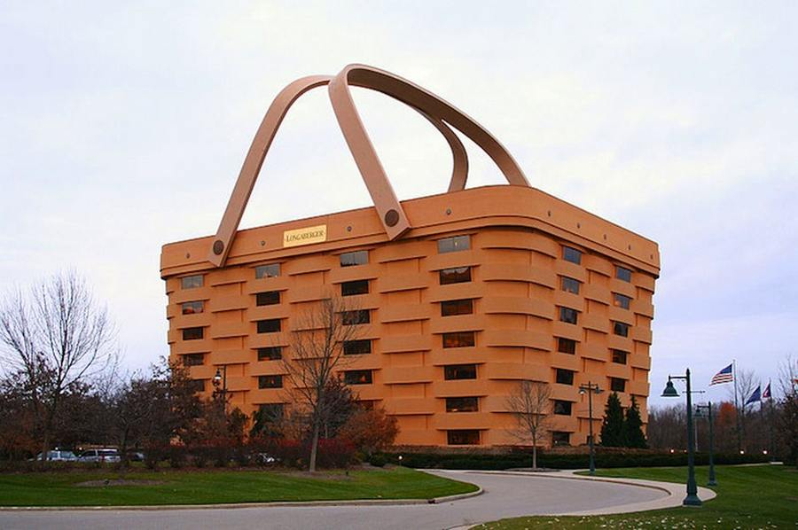 wordlesstech longaberger basket office building