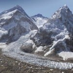 Mount Everest in 3.8 billion pixels