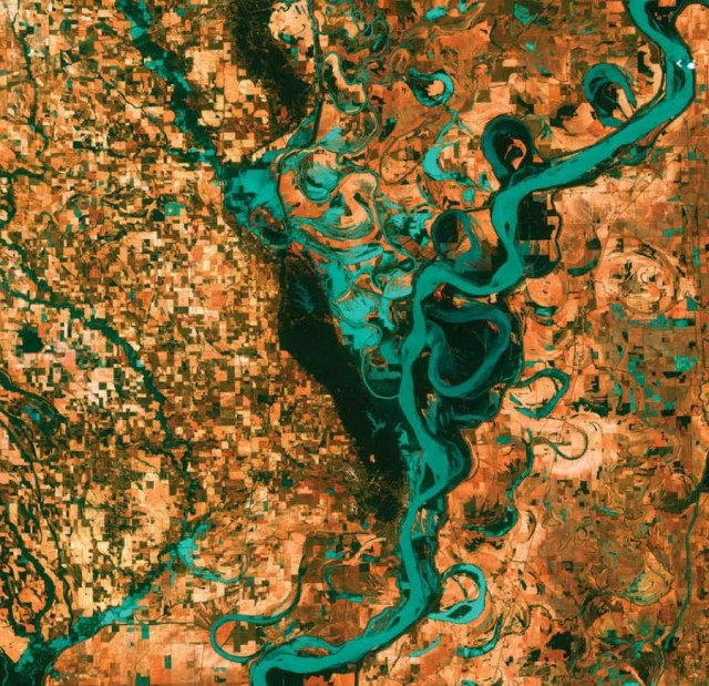 Meandering Mississippi - United States