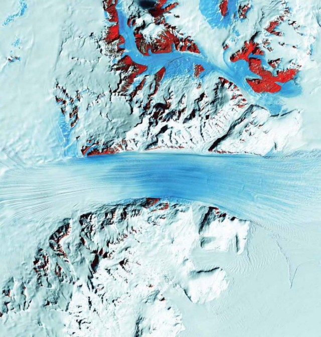 NASA Earth As Art eBook- Byrd Glacier - Antartica