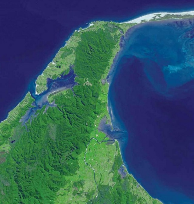 NASA Earth As Art eBook-  Cape Farewell - New Zealand