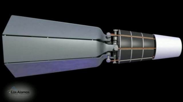 Nuclear-powered engine for Space exploration