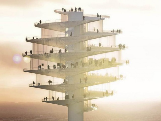 Phoenix Observation Tower by BIG architects