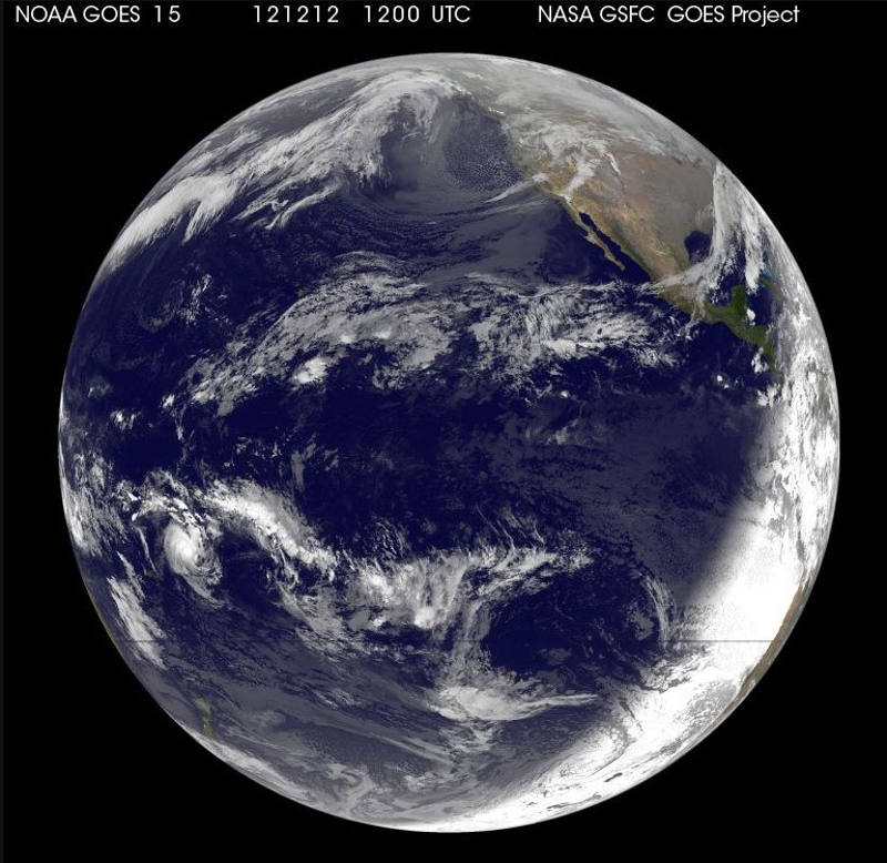 Satellite Observes the once-in-a-Lifetime12-12-12