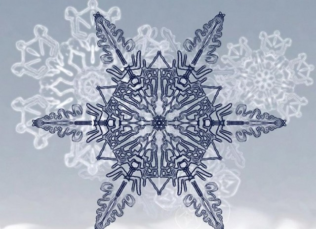 Snowflakes app for iPad - iPhone
