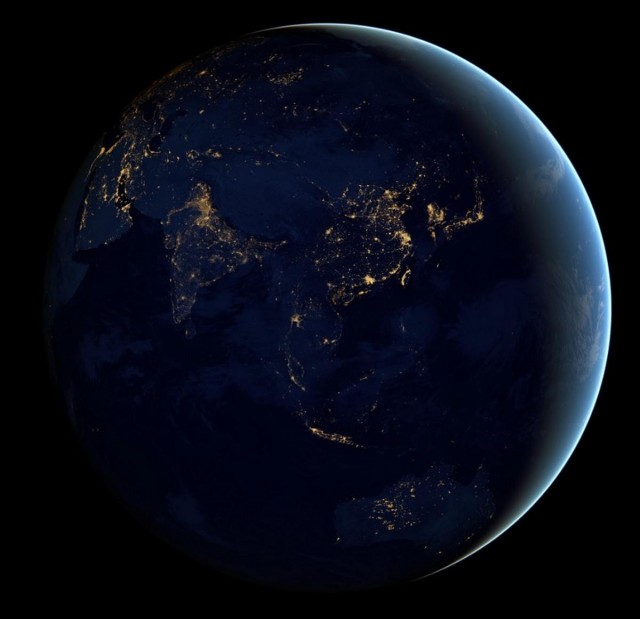 The Black Marble- Earth at Night 2012 -