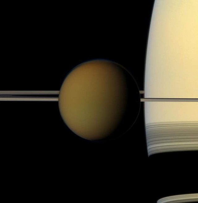 Saturn's largest moon Titan