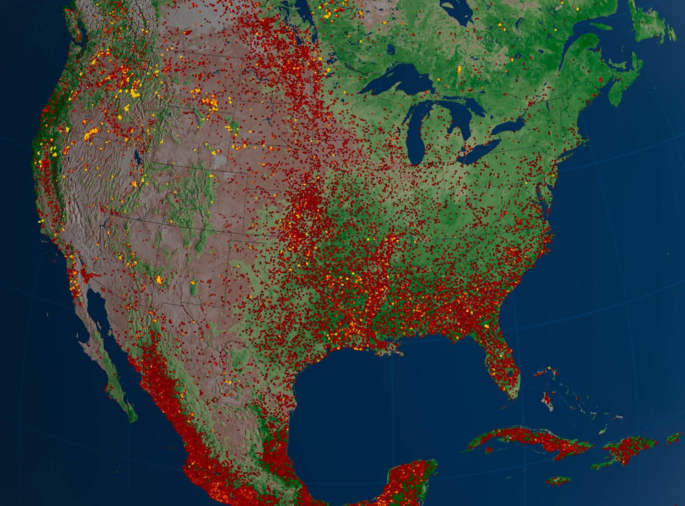 US Fires 2012