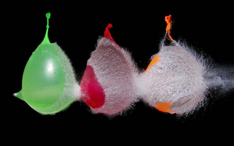 Water-Balloons in High Speed Photography (7)