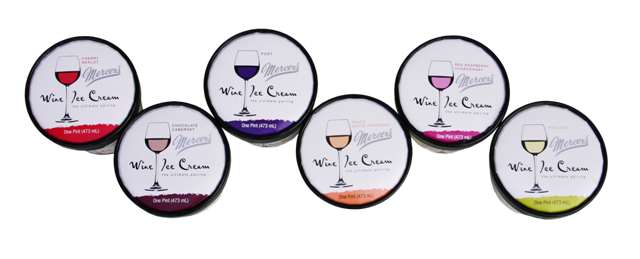 Wine Ice Cream by Mercers