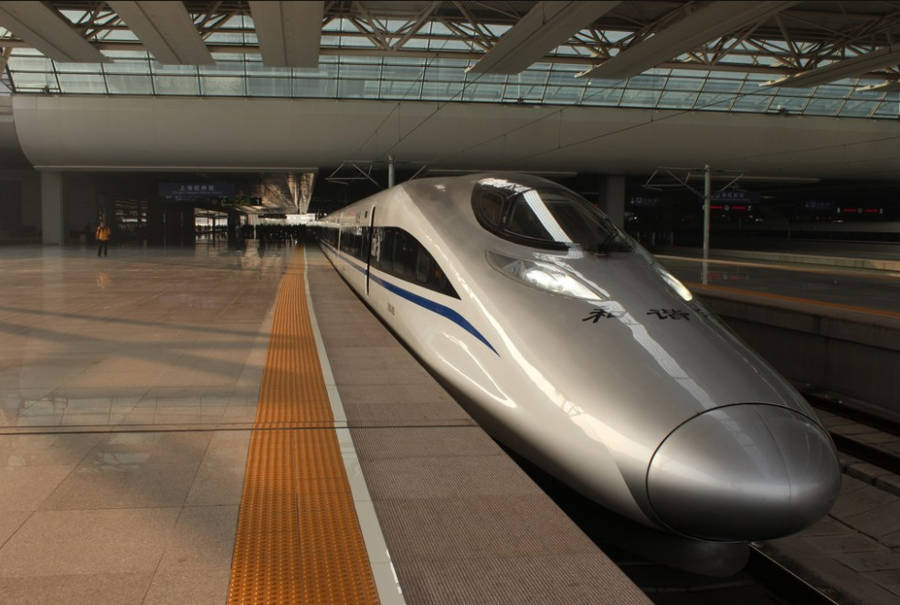 World's Longest Bullet Train Line