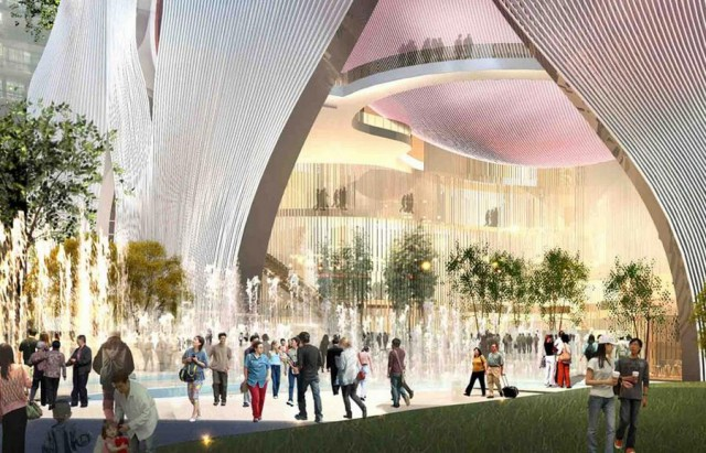 Xiqu Centre in Hong Kong by Bing Thom Architects (4)