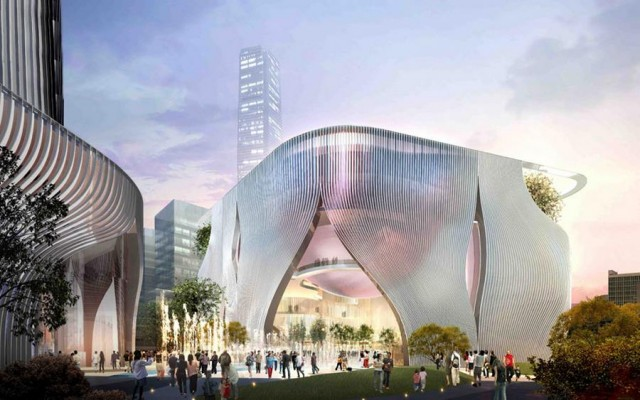 Xiqu Centre in Hong Kong by Bing Thom Architects