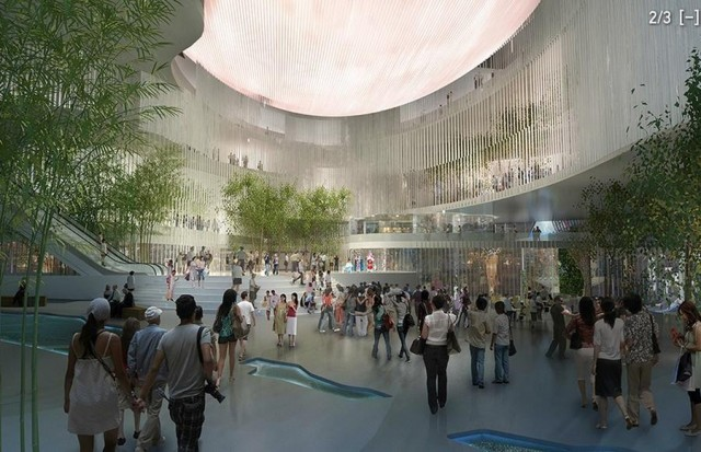 Xiqu Centre in Hong Kong by Bing Thom Architects (2)