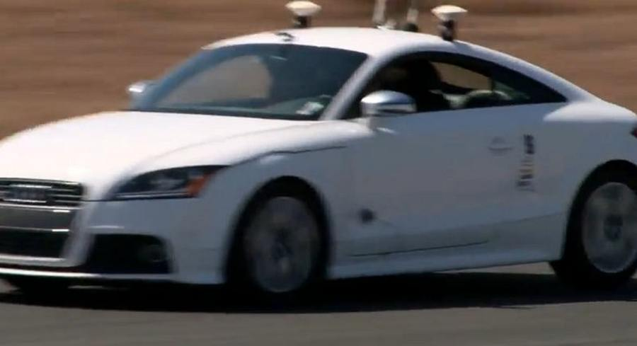 wordlesstech audi obtains license to test self driving cars in nevada. Black Bedroom Furniture Sets. Home Design Ideas
