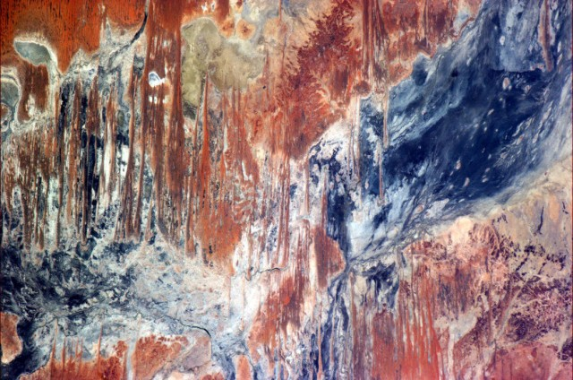 Australia Outback from ISS