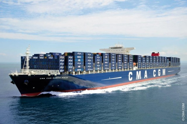 CMA CGM Marco Polo world's largest container ship