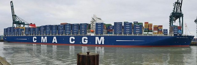 CMA CGM Marco Polo largest container ship