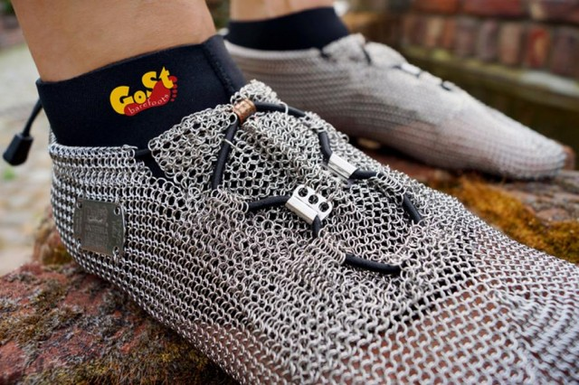Chainmail barefoot shoes (5)