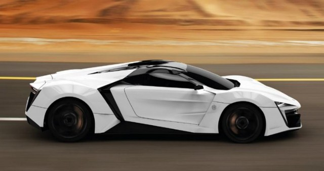 Exclusive LykanHypersport priced at $3400000