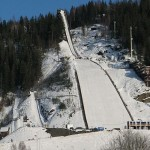 Going off the World's Largest Ski Jump