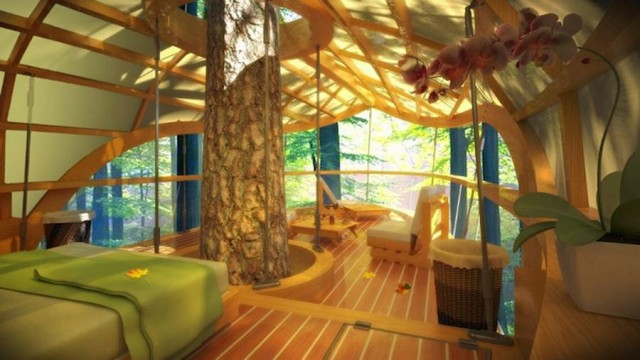 Luxury Treehouse- the ultimate Comfort in Nature (3)