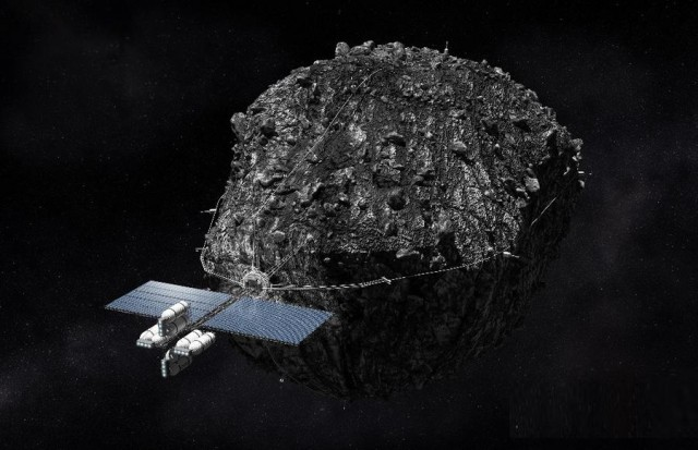 Mining for metals on an asteroid by 2015