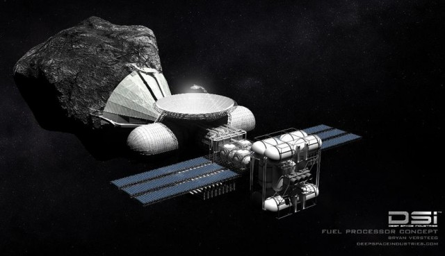 Mining for metals on an asteroid by 2015 (2)