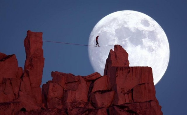 Full moon- Moonwalk