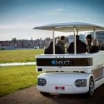 Navia Driverless electric shuttle