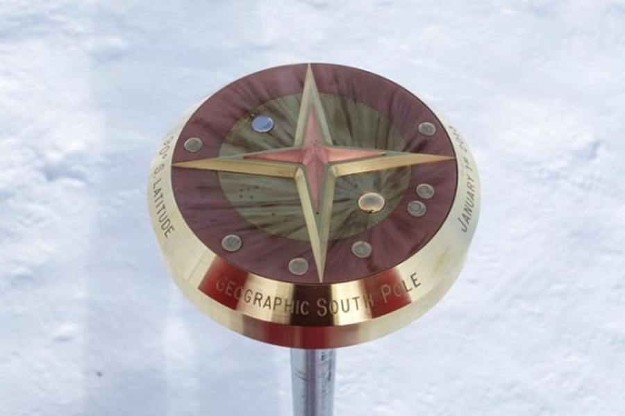 New South Pole Marker