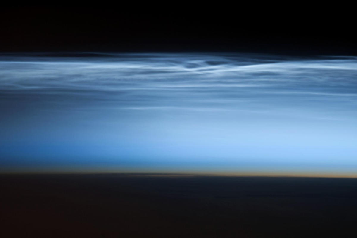 Polar Mesospheric Clouds in South Pacific Ocean