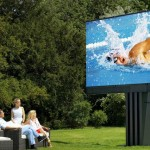 Porsche unveils world's largest TV