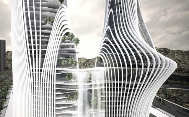 Shan-Shui City by Ma Yansong - Architects