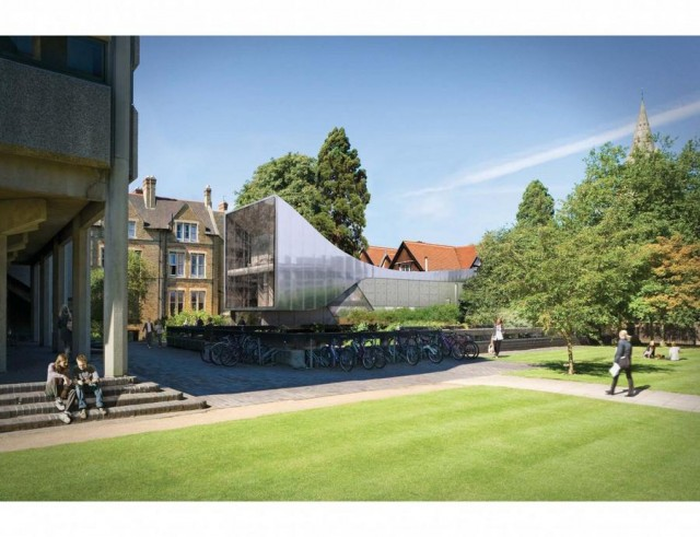 St Antony's College extension by Zaha Hadid (4)