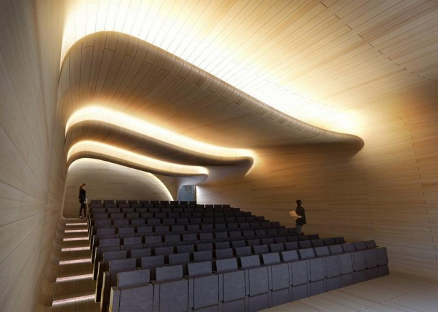 St Antony's College extension by Zaha Hadid (1)