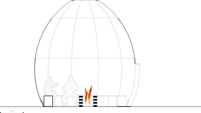 Fire Temporary Shelter by Shjworks (1)