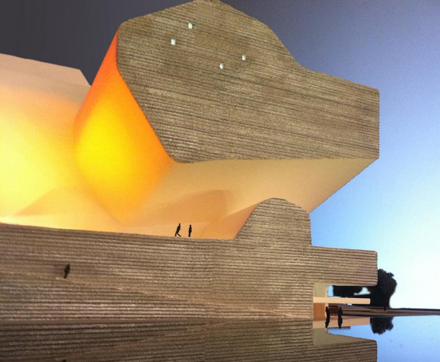 Tianjin Ecology and Planning Museums by Steven Holl Architects (7)