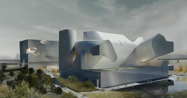 Tianjin Ecology and Planning Museums by Steven Holl Architects (6)