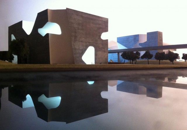 Tianjin Ecology and Planning Museums by Steven Holl Architects (5)