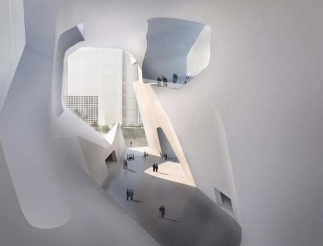 Tianjin Ecology and Planning Museums by Steven Holl Architects (3)