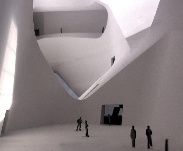 Tianjin Ecology and Planning Museums by Steven Holl Architects (2)