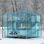 Transparent housing concept by Santambrogiomilano