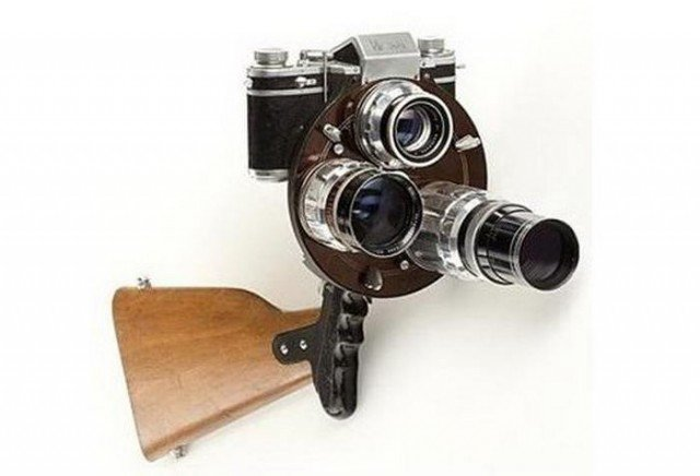 Unusual Cameras- Rectaflex Rotor 1952