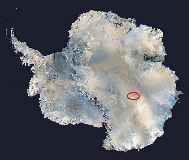 Where is the coldest place on Earth