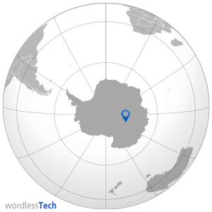 Where is the coldest place on Earth- map