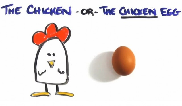 Which Came First - The Chicken or the Egg