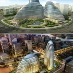 Zaha Hadid building pirated in China