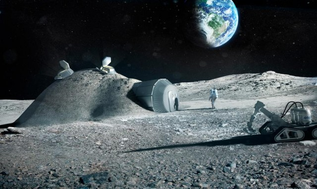 3D Printed Base on the Moon (5)