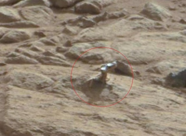 Another Weird Thing on Mars
